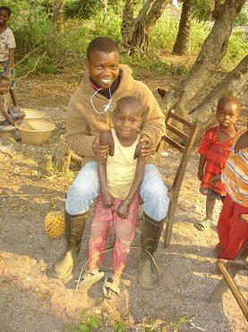 auf Visite in umliegenden Dörfern