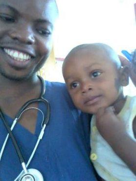 mit kleinem Patienten